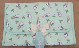 Enfamily Mint Green Peter Rabbit Diaper Changing Pad Vintage 1997