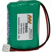 3.6V 800mAh Replacement Battery Compatible with GP 100AAAHC3BMJ