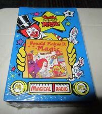 NOS VINTAGE MCDONALD'S RONALD MAKES IT MAGIC - MAGICAL RADIO CASSETTE SINGLE #1
