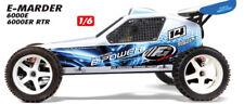 FG T2M Marder E Off-Road Buggy 2WD 6S Brushless Regler Motor 6000E
