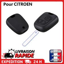 Coque clé plip pour CITROEN C1 C2 C3 C4 C5 C8 sans lame clef boitier