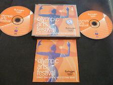 OLYMPIC ARTS FESTIVAL SYDNEY 2000 RARE AUSSIE DOUBLE CD! BOCELLI LEMPER MUTI