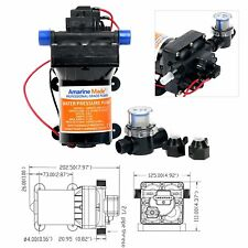 High Quality 12v 42-Series Water Pressure Diaphragm Pump w/ Variable Flow 3.0GPM