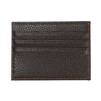 Men's Womens Real Leather Small Id Credit Card Wallet Pocket-Case Holder Sl L3A7