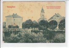 AK Szentgotthard, Kath. templom es gymnasium, 1910