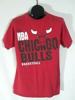 Adidas NBA Chicago Bulls Basketball T-Shirt The Go TO Tee Mens Size Large Red Y1