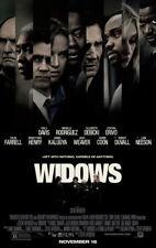 WIDOWS 2018 MOVIE POSTER 2 Sided Original Movie Poster 27 x 40