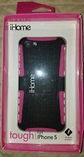 iHome Tough Case | for iPhone 5/5s | Pink | IH-5P130P