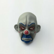 1/6 figure bank robbers Joker face Clown. Heath ledger mask Suitable for head