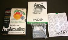Vintage Peachtree FIRST ACCOUNTING 2 Windows 3.1 95 1996 3.5 Diskettes Software