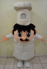 Marylen Brewer Professional mascot Costume Chef Baker Cook Italian Restaurant