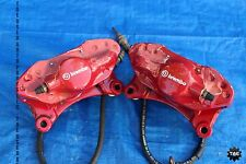 2008 MITSUBISHI LANCER EVOLUTION X OEM BREMBO REAR BRAKE CALIPERS EVOX CZ4A 370