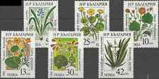 Timbres Flore Bulgarie 3140/5 ** lot 9876