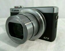 Canon PowerShot G7 X Mark Iii - 20.1Mp Point & Shoot Digital Wi-Fi Camera, Black