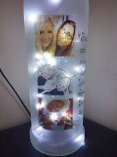 BELLISSIMO UNICO Light Up Foto BOTTIGLIA completamente nuovo design,,, molto diverso