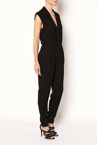 Witchery drape front jumpsuit. Size 8 (8-10)
