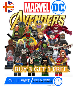 Marvel Avengers Custom Lego Mini Figures DC Superhero Minifigure Star Wars
