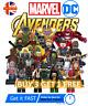 Marvel Avengers Custom Lego Mini Figures DC Superhero Minifigure Star Wars