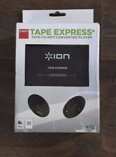 ION Tape Express Plus Cassette Player and Tape-to-Digital Converter USB -926C
