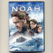NOAH 2014 PG-13 movie, new DVD, Bible, Ark, Russell Crowe, J. Connelly, E Watson