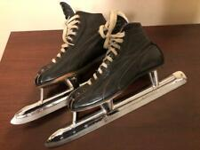 Vintage 1980s Leather Planert Speed Skates sz Men's 6.5 Racing Made In Canada