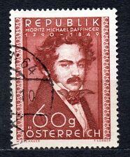 Austria 1950 Moritz Daffinger (painter) Mi. 948, Scott 569 VFU