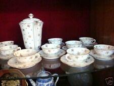Original porcelain Limoges teaset for 6 - Unused