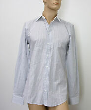 NEW Authentic Gucci Cotton Stripe Fitted Shirt, 39/15.5,  # 269058