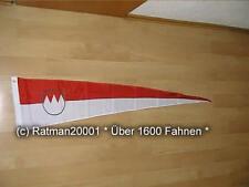 Fahnen Flagge Franken Wimpel - 28 x 142 cm