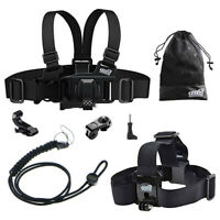 Neck / Head Strap / Chest Body Harness Mount for VTech Kidizoom Kid Action Cam
