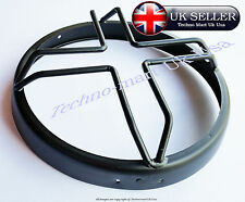 "NEW ROYAL ENFIELD HEADLIGHT HEAD LAMP PROTECTIVE GRILL COVER 7"" (STAR) @UK"