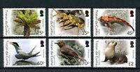 Tristan da Cunha 2016 MNH Biodiversity Pt 1 6v Set Birds Fish Seals Ferns Stamps