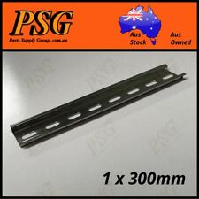 DIN Rail 35mm Wide Slotted type for circuit breakers, contactors, 1 x 300mm long