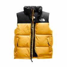 NWT Retro 1996 The North Face Yellow 700 Fill Nuptse Vest XL jacket black vtg