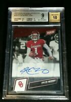 BGS 9/10 1/1 KYLER MURRAY RC AUTO /5 *SSP ROOKIE 2019 Panini National Convention