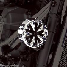 Show Chrome Vantage Horn Cover-Yamaha V-Star 650 & 1100 Custom Classic Silverado