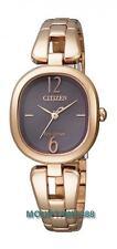 EM0187-57W,CITIZEN EcoDrive Watch,SapphireGlas,LowChargeIndicator,RGoldTone,Lady