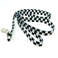 Vans Checkerboard Collectible Black White Dog Leash Dog Collar Family Exclusive