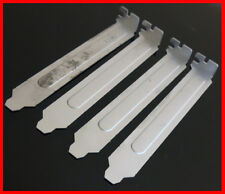 --- Lot of 4  --- Desktop PC Computer DELL IBM HP PCI Slot Cover Back Plate