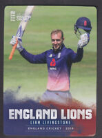 Tap N Play - England Cricket 2018 - Base # 37 Liam Livingstone - Lancashire