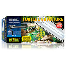Exo Terra Tortue Support de lampe INCLUS 11 W UVB Lampe , NEUF