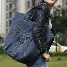 Large Capacity Women's Hobo Bag Shoulder Bag Demin Totes Bag Travel Handbag Chic