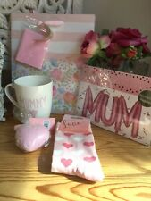 Mummy China Mug Gift Set -Birthday- New Mum Gift - Present