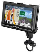 RAM Motorcycle Rail Handlebar Mount for Garmin Nuvi 65, 66, 67, 68 GPS