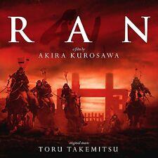 Toru Takemitsu - Ran (Soundtrack, Enhanced, 2lp Vinyl) Sillp1518, New + Sealed
