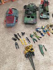 G.I. Joe Vehicle Figures Weapon Lot GI Vintage Marauder H.I.S.S.