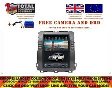 "10.4"" TESLA NAVI BT ANDROID 8.1 CARPLAY DAB TOYOTA PRADO LAND CRUISER 02-09 1041"