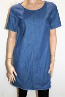 Lee Cooper Brand Blue Short Sleeve Denim Dress Size 10 BNWT #TS04