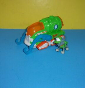 PAW Patrol Rocky's Transforming Sea Patrol Vehicle with a Rocky Figure