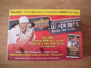 2015-16 Upper Deck Series 2 Hockey 12 Pack Mega Box